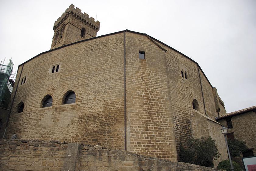 Inauguradas Las Obras De La Casa Abacial Que Culminan La Restauración Del Conjunto Monumental De Santa María De Ujué