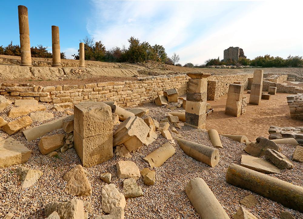 La Nueva Campaña De Excavaciones En El Yacimiento De Santa Criz Descubrirá El Foro De La Ciudad Romana