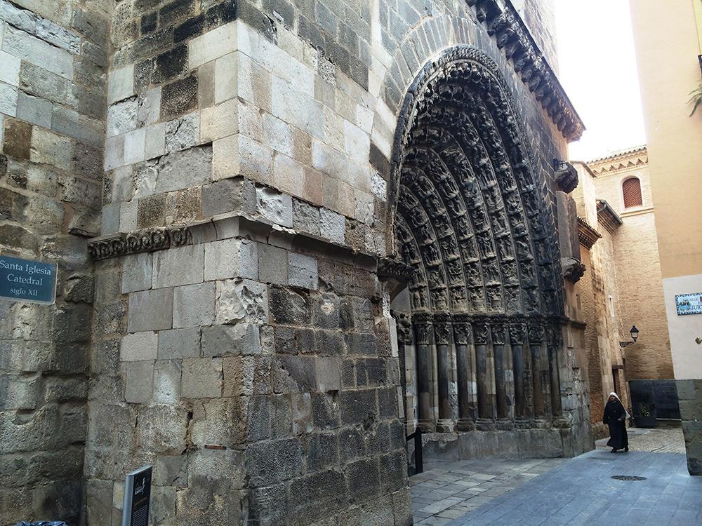 El Gobierno Foral Restaurará La Puerta Del Juicio De La Catedral De Tudela