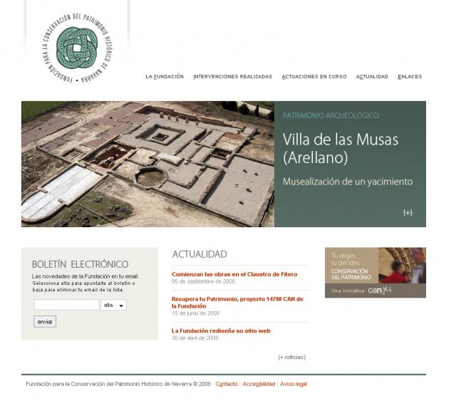 La Fundación Rediseña Su Sitio Web