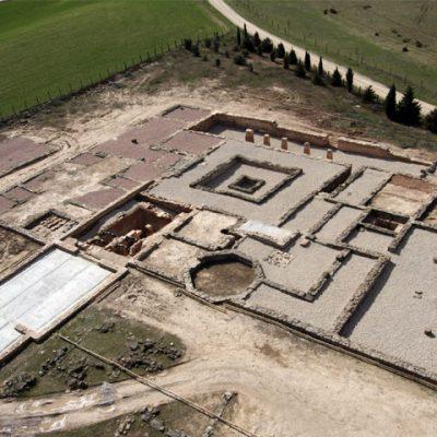 Vista Aérea De La Excavación Anterior A La Construcción Del Edificio