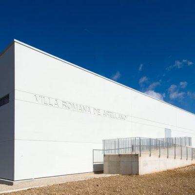 Vista Exterior Del Nuevo Edificio De Cubrición Del Yacimiento