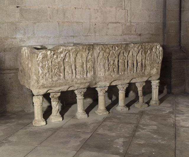 Sepulcro De Sancho VII El Fuerte. Monasterio De La Oliva (Carcastillo)