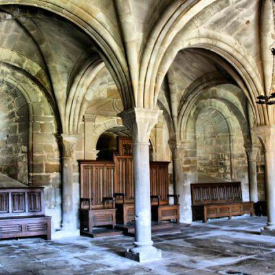 Interior Del Monasterio De Santa María La Real De La Oliva En Carcastillo