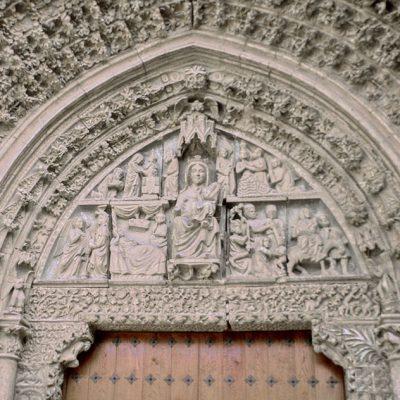 Portada De Santa María De Olite