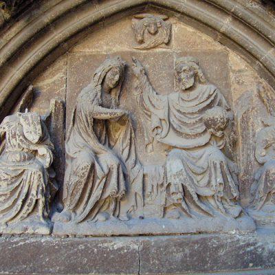 Portada De San José. Catedral De Pamplona. Detalle