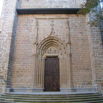 Portada De San José. Catedral De Pamplona