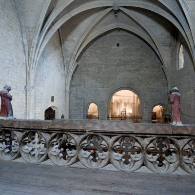Interior Del Santuario De Ujué