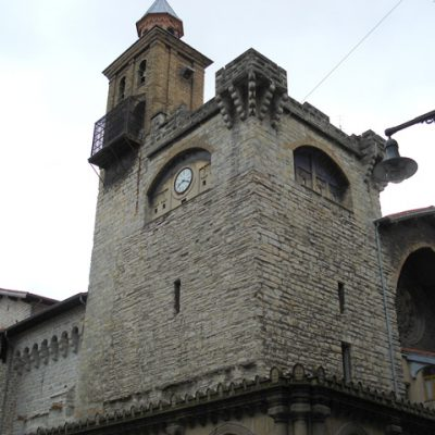 Fachadas Norte Y Oeste. La Primera, A La Izquierda De La Imagen, Ya Restaurada. La Torre Y Zona De La Derecha, Sin Intervenir Todavía