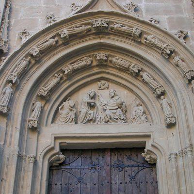 Portada De San José. Catedral De Pamplona. Detalle General