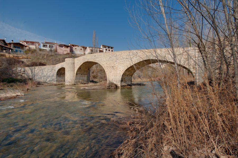 Puente De Las Cabras En Lumbier