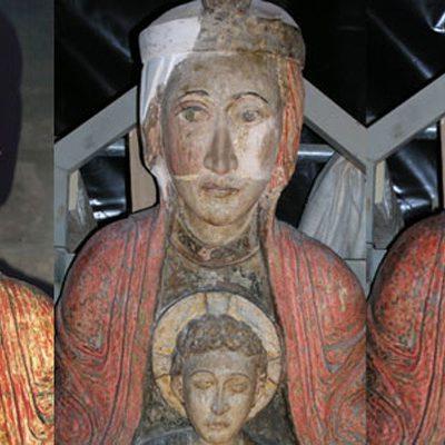 Virgen Blanca De La Catedral De Tudela