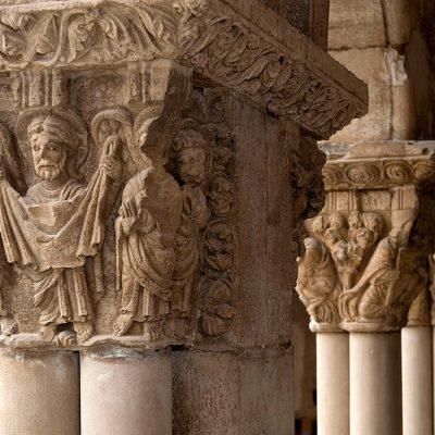 Capiteles Claustro Catedral De Tudela