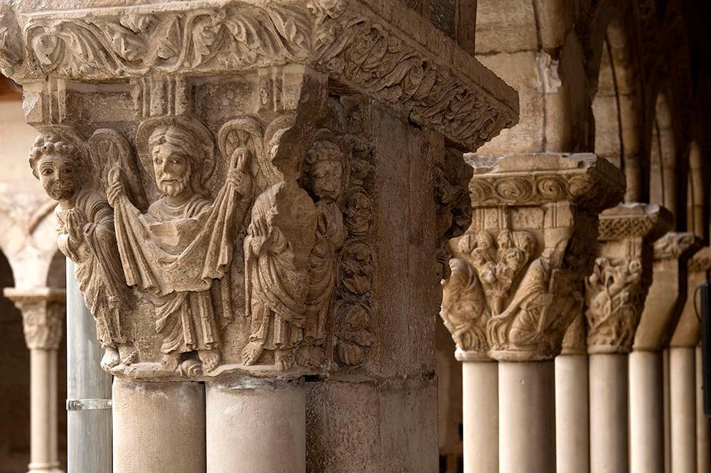 El Gobierno De Navarra Licitará En Marzo La Primera Fasede Las Obras De Restauración Del Claustro Románico De La Catedral De Tudela