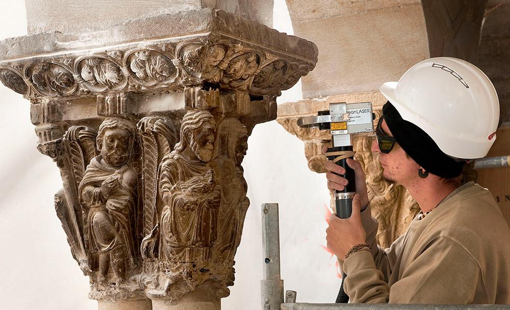 Comienzan Las Obras De Restauración Del Claustro De La Catedral De Tudela