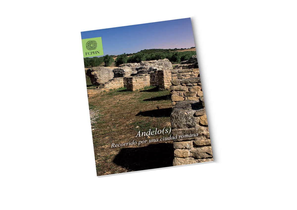 Portada 'Andelos, Recorrido por una Ciudad Romana'