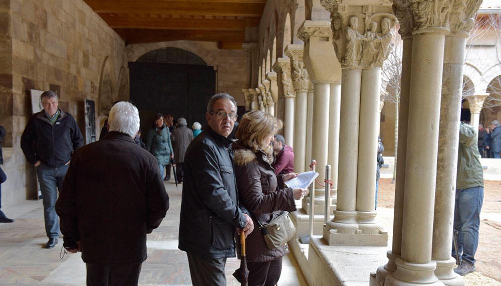 El Claustro De La Catedral De Tudela Reabre Las Puertas Tras Su Restauración