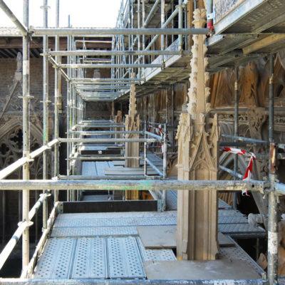 Visitas Guiadas Para Conocer El Desarrollo De Las Obras De Restauración Del Claustro De La Catedral De Pamplona